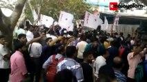 SFI-DYFI Protest In Kochi Against Moral Policing By Shiv Sena