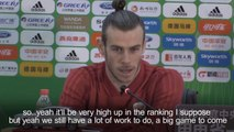 Wales winger Gareth Bale wants to make his 'whole country proud' in the China Cup