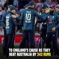 England Break Number Of Records Against Australia in 3rd ODI