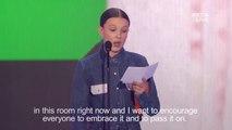Stranger Things star Millie Bobby Brown dedicates award to Florida shooting victims