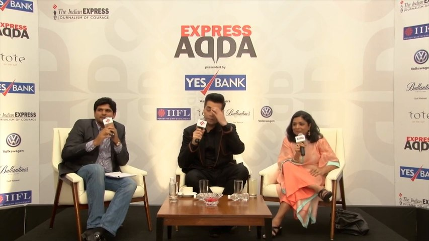 Express ADDA With Karan Johar