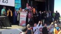 Marisa Matías a l'acte del Consell per la República
