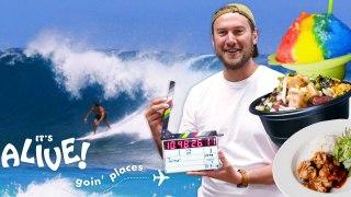 Brad Goes on a Hawaiian Food Tour