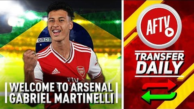 Welcome To Arsenal Gabriel Martinelli!