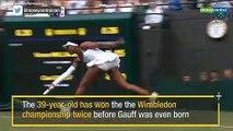 15-year-old Cori Gauff knocks Venus Williams out of Wimbledon