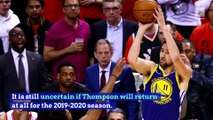 Klay Thompson Re-Signs With Warriors