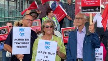 Anger over licence fees by the BBC