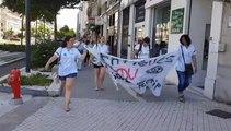 Grenoble : « Anormal qu'il y ait autant de gens sur des brancards aux urgences »
