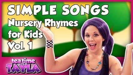 Simple Songs - Nursery Rhymes for Kids, Volume 1