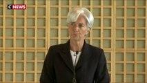 Christine Lagarde élue à la tête de la Banque centrale européenne