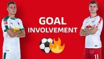 Bundesliga: Head to head between Thorgan Hazard and Timo Werner