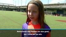 New York kids inspired by USA Women's team