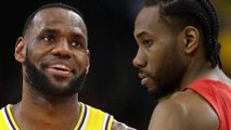 LeBron James' Pitch To Kawhi Leonard To Join The Lakers REVEALED!