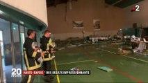 Haute-Savoie : le toit de la salle des fêtes s'effondre pendant un concert