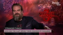 The 'Stranger Things' Cast Share How They Spent Their Childhood Summers (Monsters Not Included!)
