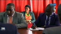 RTG - Séance  de travail du ministère de la promotion de la bonne gouvernance et de la lutte contre la corruption avec le représentant des nations unies