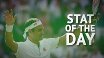 Stat of the Day - Federer's early wobble at Wimbledon