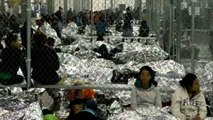 New pictures released from inside overcrowded Border Patrol facilities