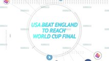 Socialeyesed - USA beat England to reach World Cup final