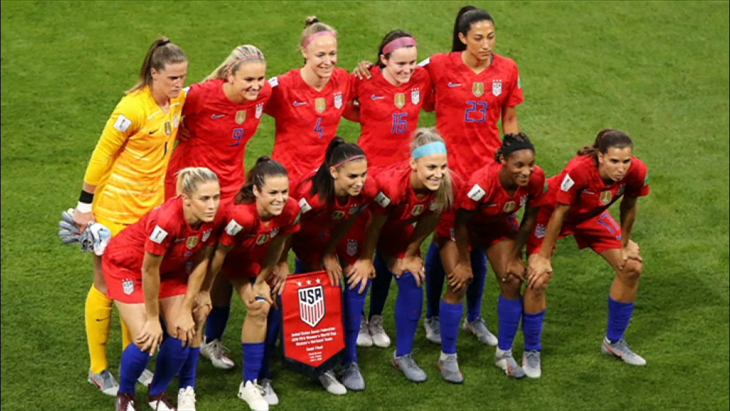 USA reach the final of the Women's World Cup