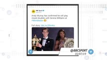 Socialeyesed - Murray to partner Serena in mixed doubles