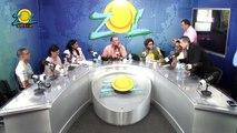 Kendra Montilla y Mayor Ricardo Uribe de DIGESET hablan de la aplicación de los alcoholímetros