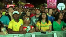 Reaction from Rio de Janeiro of semi-final between Brazil and Argentina