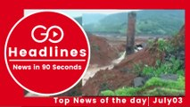 Top News Headlines of the Hour (03 July, 11 AM)