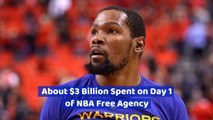 Teams In The NBA Spare No Expense For The Right Player