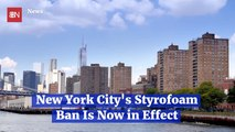 NYC Styrofoam Law Is Now Active
