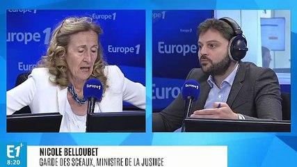 Nicole Belloubet - Europe 1 mercredi 3 juillet 2019