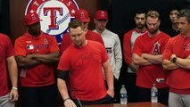 Mike Trout, Angels talk about Tyler Skaggs after win vs Rangers _ MLB