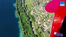 L'Isère vue du ciel - vol en autogire
