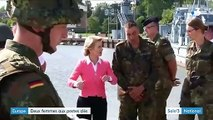 Deux femmes à la tête de l'Union européenne