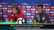Peru 'super motivated' for Chile semi-final - Gareca
