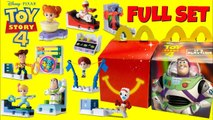 TOY STORY 4 Characters McDonald's Drive Thru Happy Meal Full Set