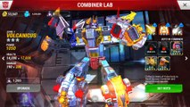 TRANSFORMERS- Earth Wars - Volcanicus, Superion, Optimus Maximus