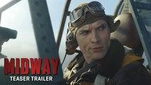 MIDWAY Trailer #1 NEW (2019) Nick Jonas, Roland Emmerich World War 2 Action Movie HD