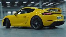 VÍDEO: Porsche 718 Cayman GT4, por fin lo vemos en movimiento