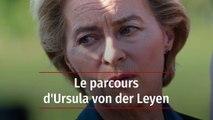 Portrait d'Ursula von der Leyen désignée pour diriger la Commission