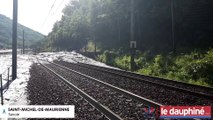 SAVOIE La voie ferrée Paris-Rome coupée à Saint-Michel-de-Maurienne
