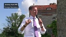 Hunt: 'Labour government is single biggest danger to UK'