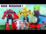 Transformers Autobots Surprise Eggs with Bumblebee Thomas and Friends and Funny Funlings Prank DC Comics The Joker in this Full Episode