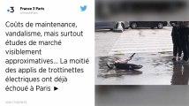 À Paris, la moitié des opérateurs de trottinettes électriques ont cessé leurs activités