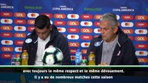 "Copa America - Rueda : ""De l'ambition, du charisme et de l'implication"""