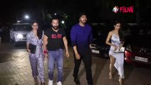 Malaika Arora & Arjun Kapoor hide their faces with a mask on their new Instagram pic | FilmiBeat