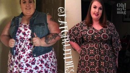 Perdendo 76 chili, il viso di Kaylee Bonnet si è completamente trasformato
