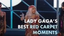 Lady Gaga's best red carpet moments