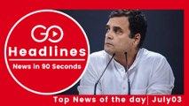 Top News Headlines of the Hour (03 July, 6:30 PM)