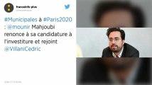 Municipales à Paris : Mounir Mahjoubi jette l'éponge et rejoint Cédric Villani